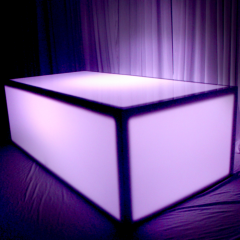 Acrylic LED Coffee Table